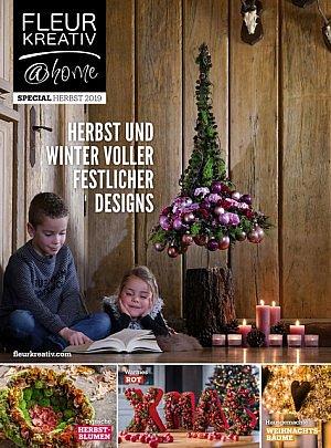 Fleur Kreativ @ home special herbst winter herbstblumen weihnachtsbaume weihnach Festtafel Silversterfeiern