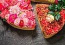Ein Stück Blumentorte
