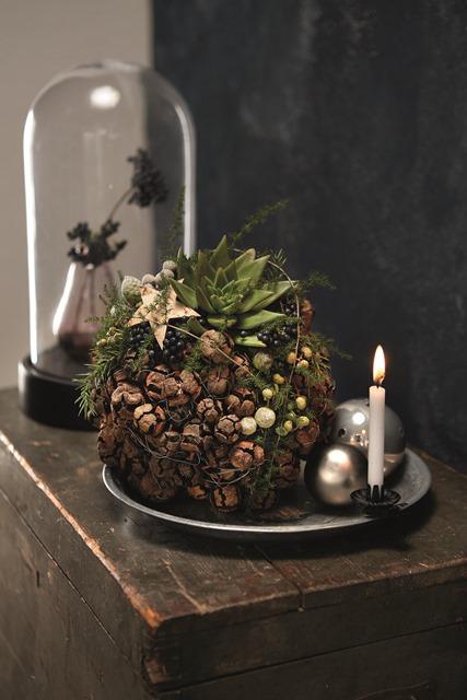 Just christmas Weihnachtsdekorationen Adventsdekorationen blooms Marion Bauer Michael Sutmöller fleur kreativ fleurbookshop.com