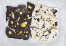 REZEPT | Bruchschokolade mit Veilchen
