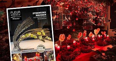 Fleur Kreativ winter 2020 winterausgabe neu im fleur bookshops floristik florist inspiration floral news fleur info tipps und tricks blumendesigns blumenkunst fleur kreativ magazine