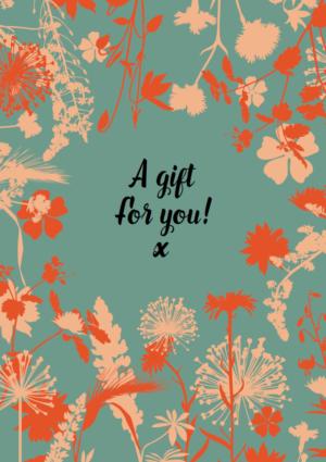 Giftcard Fleur Kreativ geschenk geschenk-abonnement inspiration ideen weihnachten fleur kreativ magazine blumendesigns blumenarrangements kreativität international zeitschrift floral art