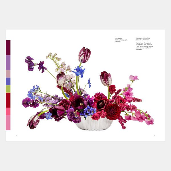 Flower Color Theory im Fleur Kreativ bookshop | Floristik Bücher | Farben | Inspiration