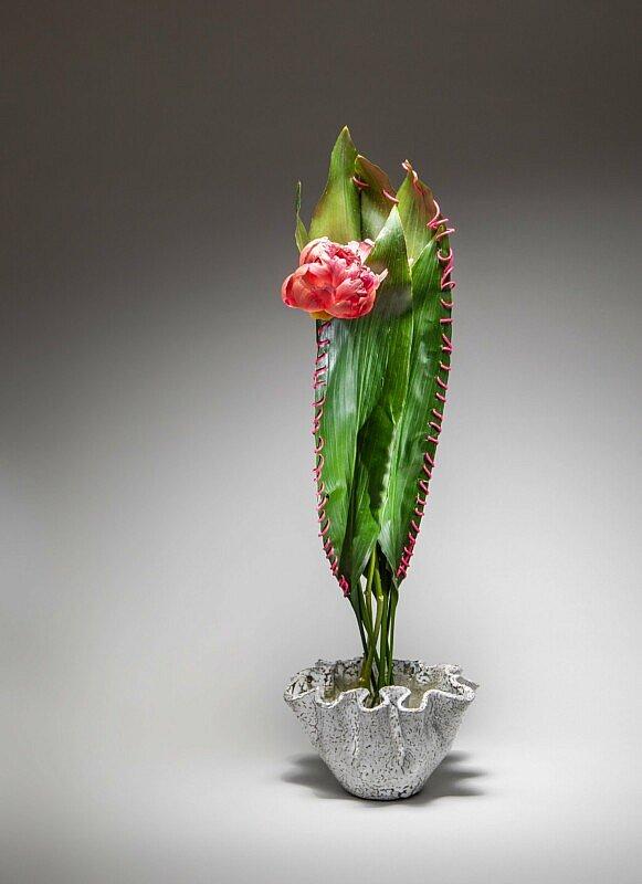 Neu in der FLEUR Buchhandlung: Inspiring Ikebana, dem ersten Buch der weltberühmten Ikebana-Künstlerin Ilse Beunen.