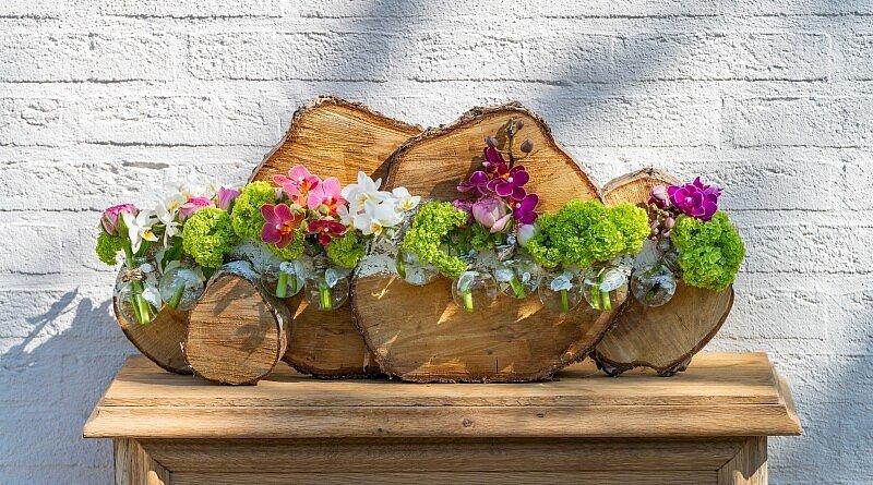Fleur Kreativ Magazin: Blumenarrangements für den Frühling. Selber machen!