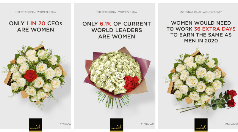 Fleur Kreativ Magazin: Interflora unterstreicht die Geschlechterungleichheit mit neuen Blumensträußen