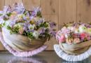 Feiern Sie den Frühling mit Blumenkörben