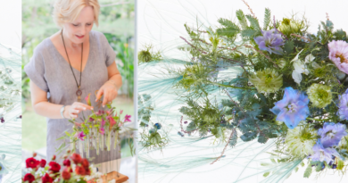 Fleur Kreativ Magazin: Ein florales Interview mit Teresa Skues über die International Floral Art